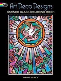 Art Deco Designs Coloring Book