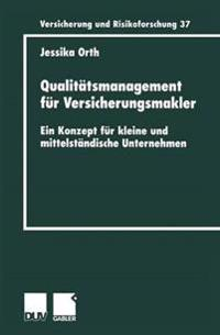 Qualitätsmanagement Für Versicherungsmakler