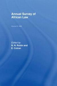 Annual Survey of African Law, 1969