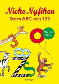 Nicke Nyfiken Stora ABC och 123