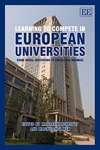 Learning to Compete in European Universities