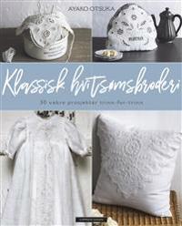 Klassisk hvitsømsbroderi - Ayako Otsuka | Ridgeroadrun.org