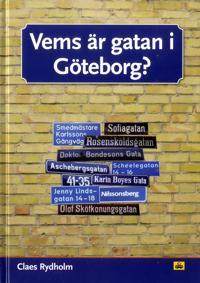 Vems är gatan i Göteborg? - Claes Rydholm pdf epub