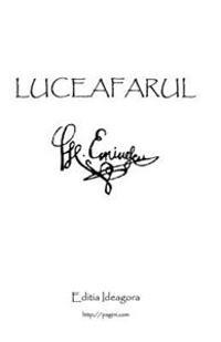 Luceafarul: Poemul Suprem Al Literaturii Romane