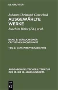 Variantenverzeichnis