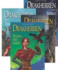 Drakherren. Paket 2, bok 4-7