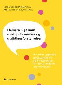 Flerspråklige barn med språkvansker og utviklingsforstyrrelser - Else Jorun Karlsen, Ann Cathrin Gjevikhaug | Ridgeroadrun.org