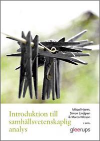 Introduktion till samhällsvetenskaplig analys 2:a uppl