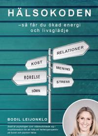 Hälsokoden : så får du ökad energi och livsglädje - Bodil Leijonklo pdf epub