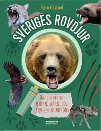 Sveriges rovdjur : de fem stora: björn, varg, lo, järv och kungsörn