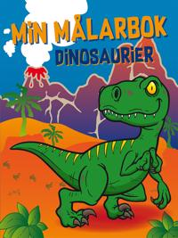 Min målarbok : dinosaurier