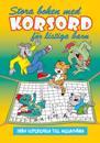 Stora boken med korsord för listiga barn