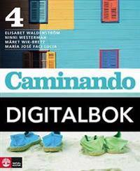 Caminando 4 Lärobok Digital, tredje upplagan