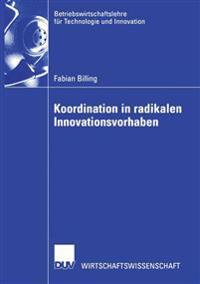 Koordination in Radikalen Innovationsvorhaben