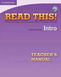 Read This! Intro Teacher's Manual with Audio CD