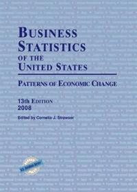 Business Statistics of the United States, 2008