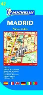 Michelin Madrid Street Map