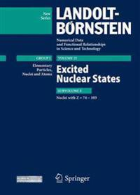 Excited Nuclear States - Nuclei with Z = 74-103