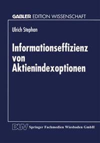 Informationseffizienz Von Aktienindexoptionen
