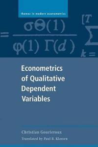 Econometrics of Qualitative Variables