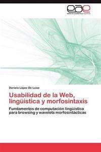 Usabilidad de La Web, Linguistica y Morfosintaxis