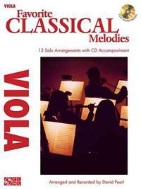 Favorite Classical Melodies: Viola [With CD (Audio)]