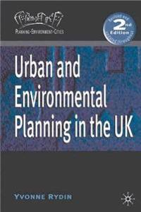 Urban and Environmental Planning in the UK