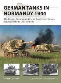 German Tanks in Normandy 1944