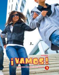 ¡Vamos! 3 Textbok inkl. ljudfiler och elevwebb