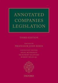 Annotated Companies Legislation