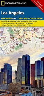 National Geographic Destination City Map Los Angeles