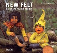 New felt using the felting needle