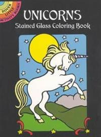 Unicorns Stained Glass