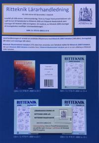 Ritteknik 2000 lärarhandledning