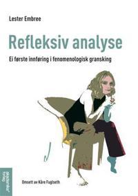 Refleksiv analyse - Lester Embree pdf epub