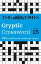 The Times Cryptic Crossword Book 25