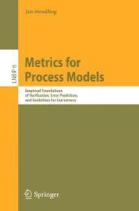 Metrics for Process Models