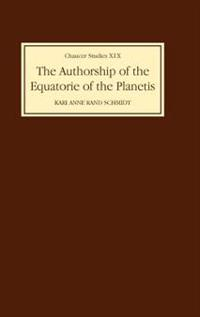 The Authorship of <I>The Equatorie of the Planetis</I>