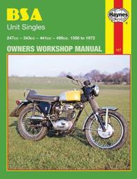 Bsa Unit Singles Owners Workshop Manual, No. 127