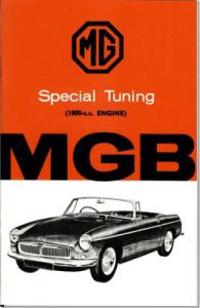MG Special Tuning For The 1800-c.c. MGB