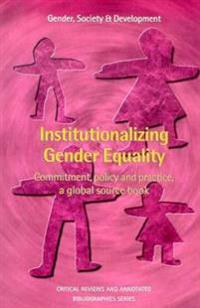 Institutionalizing Gender Equality