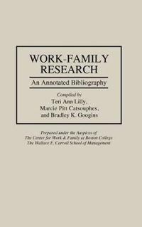 Work-Family Research