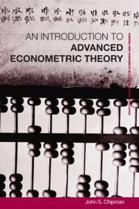 Advanced Econometric Theory