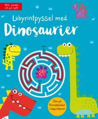 Labyrintpyssel med dinosaurier