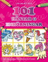 Lär dig att rita 101 hästar & enhörningar