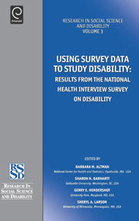 Using Survey Data to Study Disability