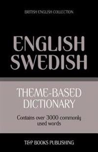 Theme-Based Dictionary British English-Swedish - 3000 Words