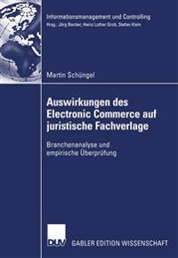 Auswirkungen Des Electronic Commerce Auf Juristische Fachverlage