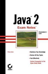 Java 2 Exam Notes
