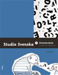 Studio Svenska 2 Övningsbok - svenska som andraspråk